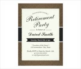 free retirement invitations templates retirement invitation template gangcraft net