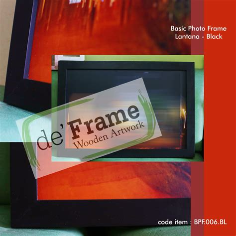 Frame Fotobingkai Foto Minimalis 4r 10 X 15 pigura minimalis lantana 40x60 black pigura foto