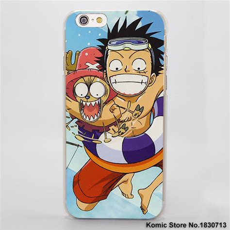 Iphone 8 Plus Luffy Monkey One Hardcase one luffy transparent cover for iphone anime store