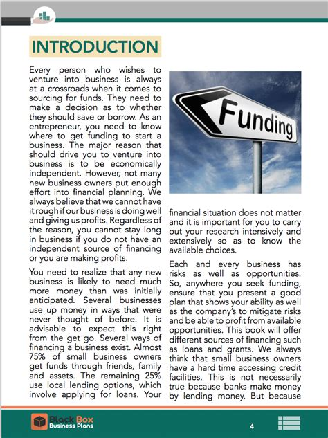black box ebook introduction to business financing ebook sle pages