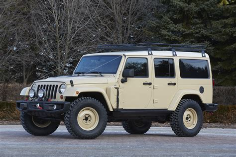 Safari Jeeps The Jeep Wrangler Africa Concept Heads To Safari In Moab
