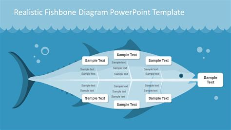 Realistic Fishbone Diagram Template For Powerpoint Slidemodel Cause And Effect Diagram Template Powerpoint