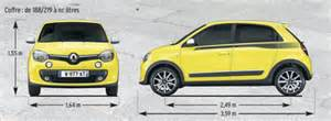 Renault Twingo Dimensions Citro 235 N C1 Ii Vs Renault Twingo Iii 2014 L Argus