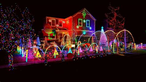 best christmas light displays in parker co