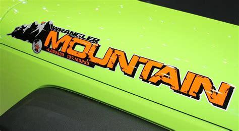 mountain jeep logo mountain decal for jeep wranglers mopar 68170759aa