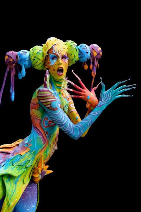 the painting festival the world bodypainting festival turns the human into