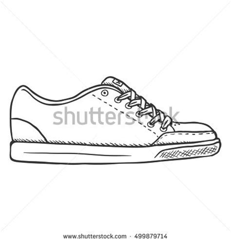 yeezy pattern vector shoe sketch stock images royalty free images vectors