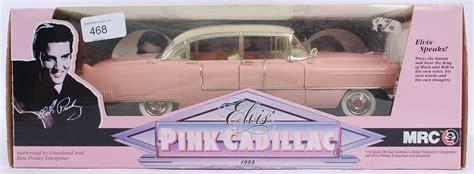 elvis 1955 pink cadillac model elvis mrc 1 18 scale elvis pink cadillac