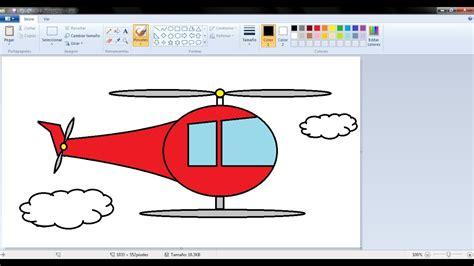 imagenes de navidad para dibujar en paint dibujos para ni 241 os c 243 mo dibujar un helicoptero con paint