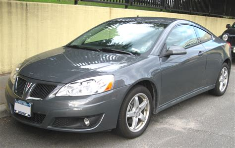 how do cars engines work 2010 pontiac g6 spare parts catalogs file 2009 5 pontiac g6 coupe 07 09 2009 jpg wikimedia commons