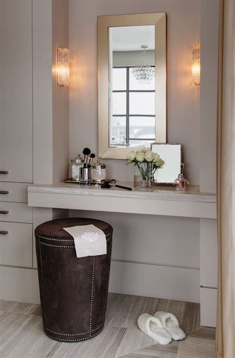 built in vanity table built in makeup vanity contemporary closet kimberley