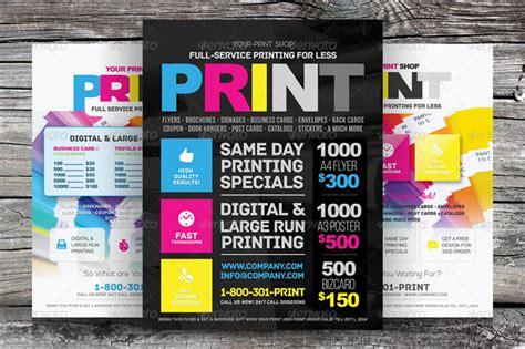 20 trending premium print shop templates
