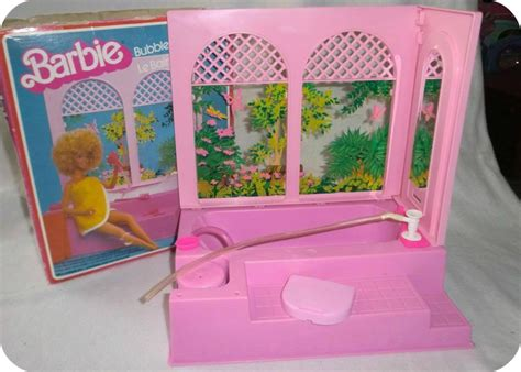 barbie bathtub babi a fi guide to fashion doll playscale bathrooms