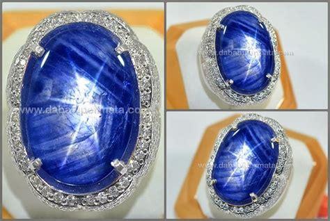 Bacan Doko Totol Babon 32 batu mulia blue safir burma no heat sps 188