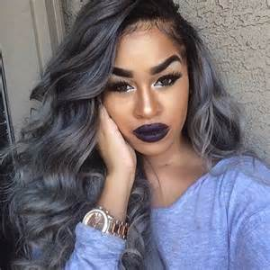 black with gray hair styles 1000 ideas about gray hair colors on pinterest silver