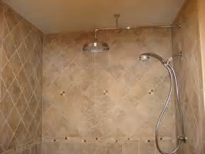 bathroom rainhead shower water coming out of