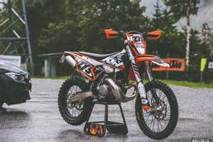 Ktm Exc Graphics 2017 Ktm 300exc Custom Graphics Kit Derestricted