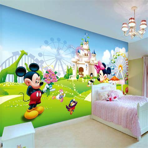 cartoon wall painting in bedroom aliexpress com buy lovely mickey minnie photo