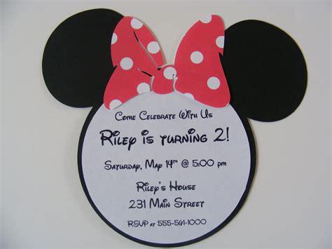 Undangan Ulang Tahun Birthday Invitation Minnie Mouse impactful minnie mouse birthday invitations templates concerning birthday 292