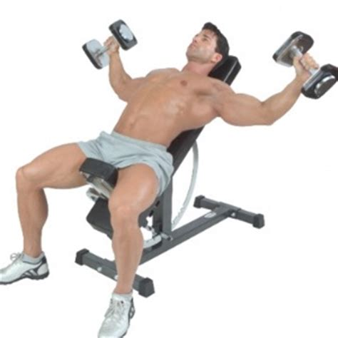 incline bench dumbbell fly 4 monster muscle mass building workout workout for