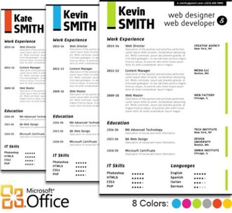 portfolio word template web designer resume template cover letter portfolio