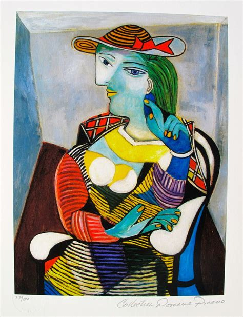 by pablo picasso marie therese walter pablo picasso marie therese walter estate signed