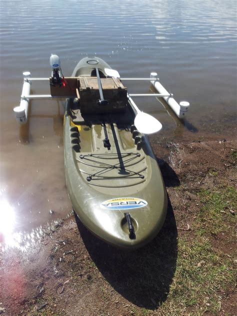 Bor Up Motor diy electric motor mount and outriggers for sup stand up paddle forums page 1