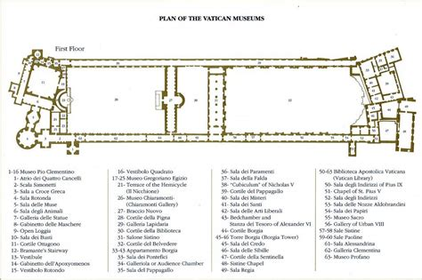apostolic palace floor plan the sacred and the secular in the vatican museum sacred