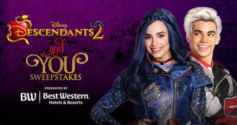 Www Disney Channel Com Sweepstakes - disney descendants 2 sweepstakes enter online at disney com you now