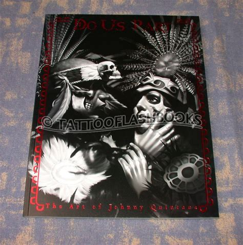 tattoo johnny book tattooflashbooks johnny quintana do us part the