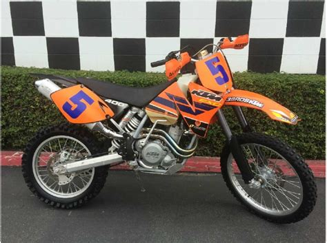 Ktm 400 Exc For Sale 2002 Ktm 400 Exc Motorcycles For Sale