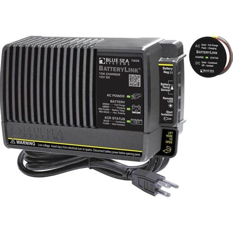 west marine battery chargers blue sea systems batterylink 174 charger west marine