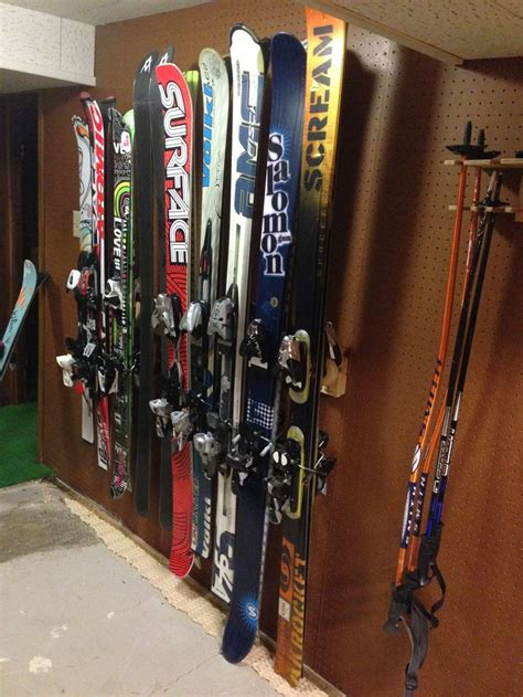 Ski Racks For Garage by 17 Best Images About Button Ski Rack Pics On