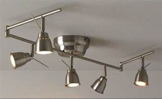 ikea barometer ceiling track light 5 spots nickel plated