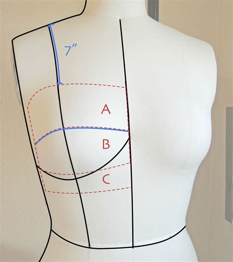 pattern drafting large bust a few threads loose 1940 s bra sew along adjusting bra cups