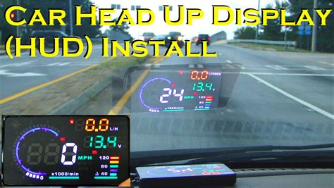 best hud car up display a8 5 5 quot obdii hud review and