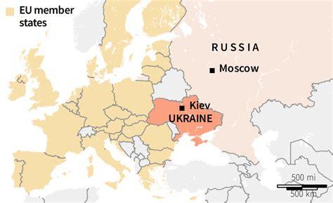map of europe ukraine russia explained ukraine conflict in maps abc news australian