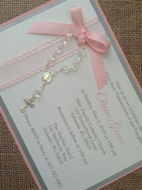 Invitations Handmade - communion invitations handmade www pixshark