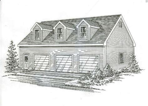 car garage building blueprint plans  walk