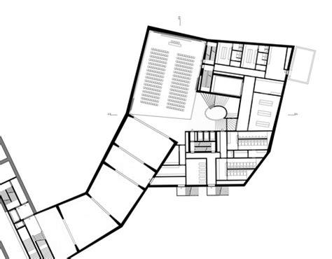 foyer museum grundriss meili architekten