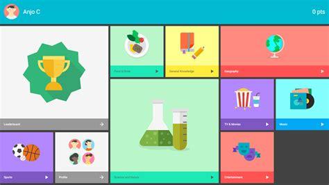 quiz app layout topeka quiz app uplabs