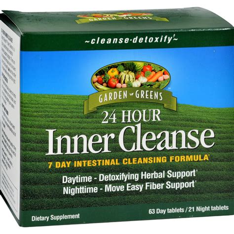 24 Hour Detox Cleanse Recipe by Garden Greens 24 Hour Inner Cleanse 7 Day Intestinal