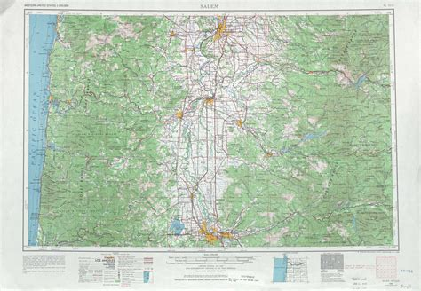 topographical map oregon west of salem topographic maps or usgs topo