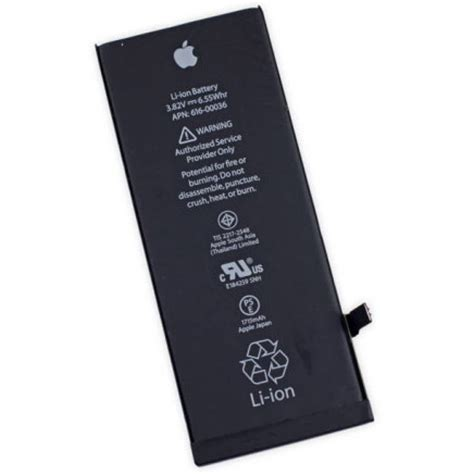 Baterai Hippo Iphone 6s 1715 Mah baterai iphone 6s hq li ion replacement battery 1715mah dengan konektor high quality black