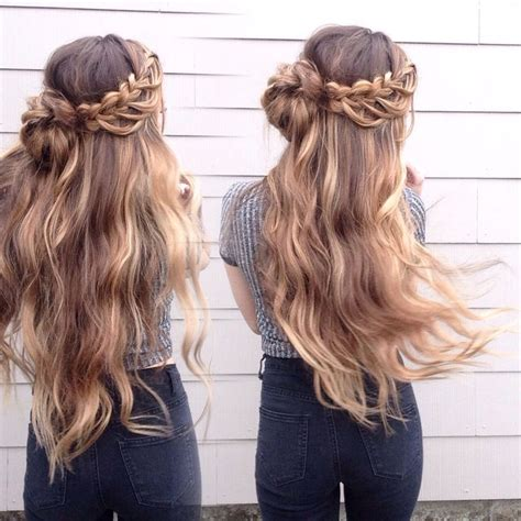steps for long braids to be put in a bun 22 best hairstyles for backless dress images on pinterest