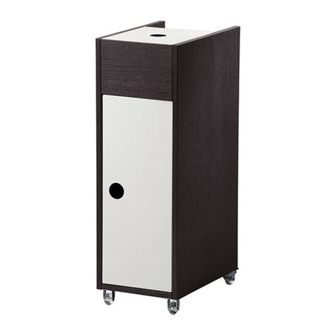 small bathroom cart klampen cart black brown ikea