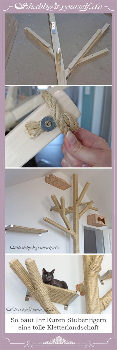 Le Mit Holzbalken by Mit Holzbalken Und Sisalseil K 246 Nnt Ihr Euren Katzen Eine