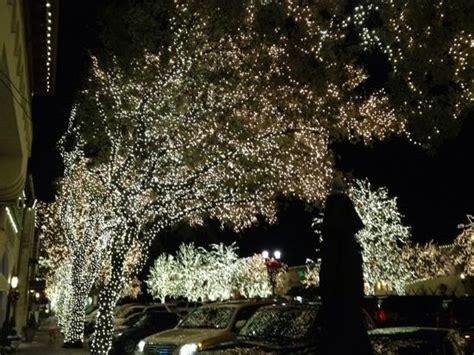 highland park christmas lights xmas lights at highland park village picture of highland