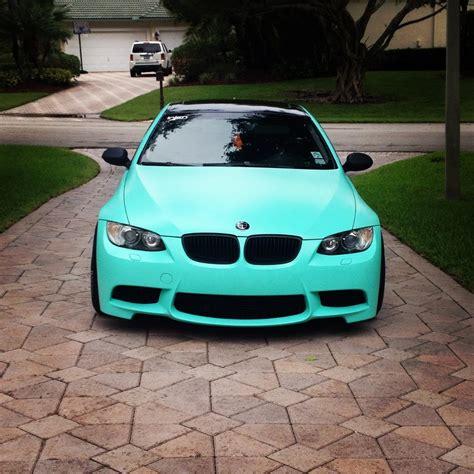 mint color car matte mint 335i