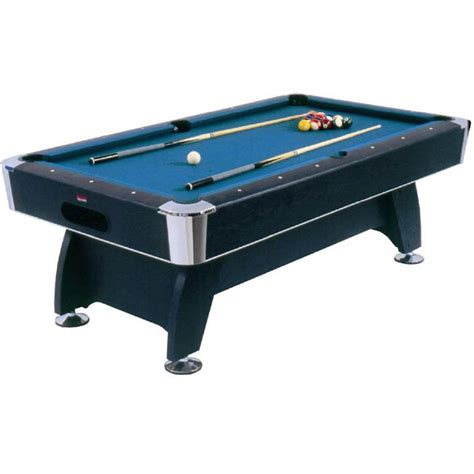 7ft pool table bce 7ft deluxe black cat pool table
